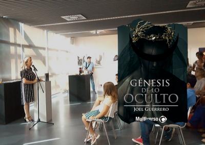 Exposición «Encuentros de Arte» basado en «Génesis de lo Oculto»
