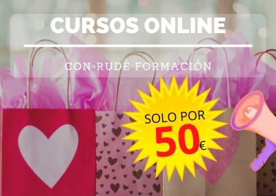 Cursos online: ¡Solo 50€!